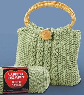 Knitted or Crochet Handbag : Knitting Projects :  Shop   Joann.com
