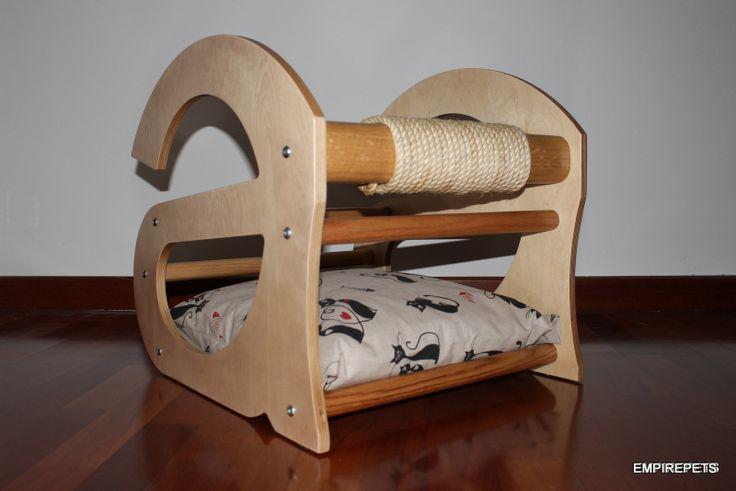 CUCCIA RIPIANO O CULLA cuscino, di design con lettera a, gatto
