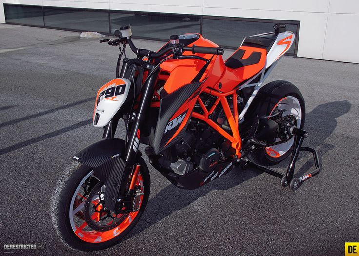 KTM 1290 Superduke. Seriously trick.