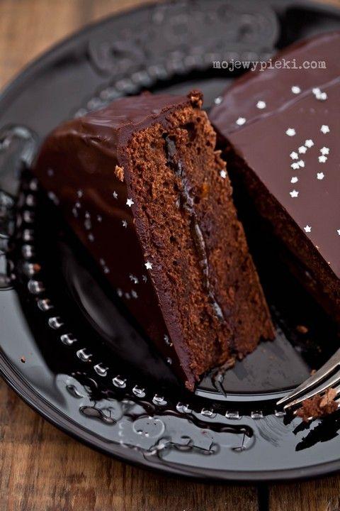 Korzenny torcik czekoladowy 'Piernikowe serce'