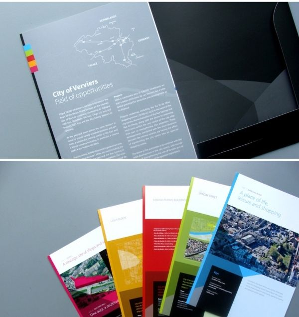 25 Awesome Brochure Examples - SloDive - Pamphlet Brochure - flyer examples