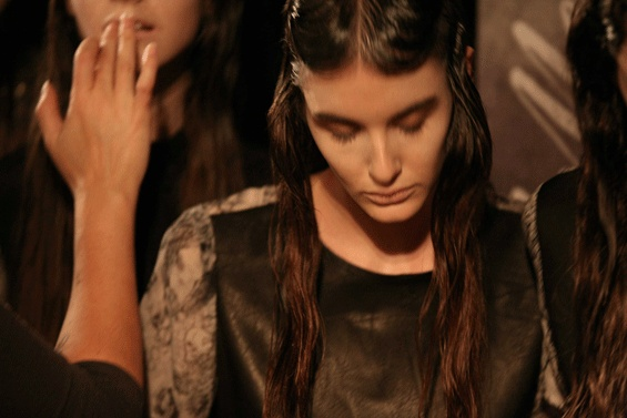 flowers For a VagabOnd MBFWA – Backstage