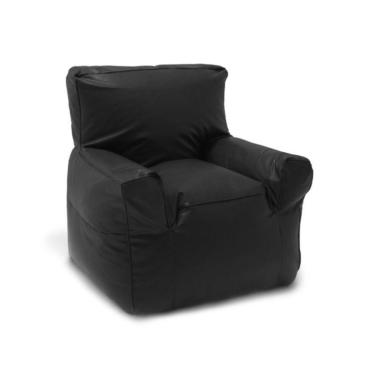 Comfort Research Big Joe Suite Bean Bag Lounger Upholstery Black