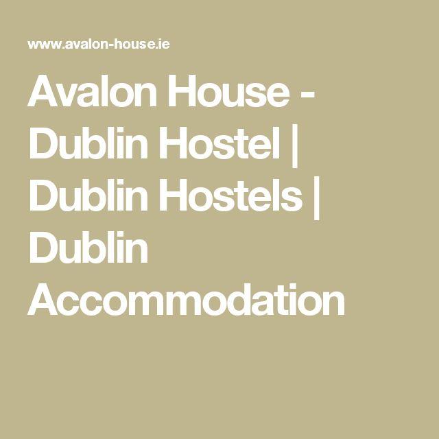 Avalon House - Dublin Hostel | Dublin Hostels | Dublin Accommodation