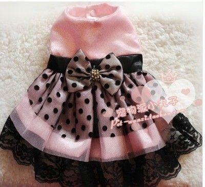 2013 dog lace wedding dresses apperel pet princess skirt gift clothes XS XL