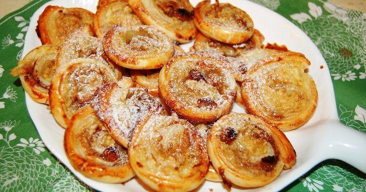 Katčina báječná kuchyně: Báječní jableční šneci z listového těsta