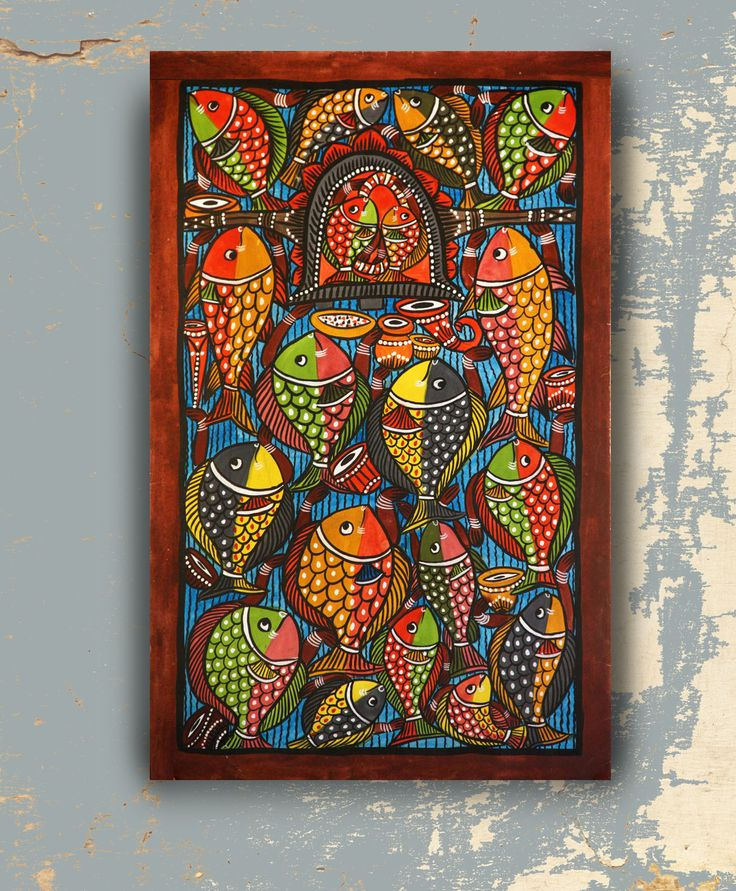 The Doli : Original Patachitra on Canvas