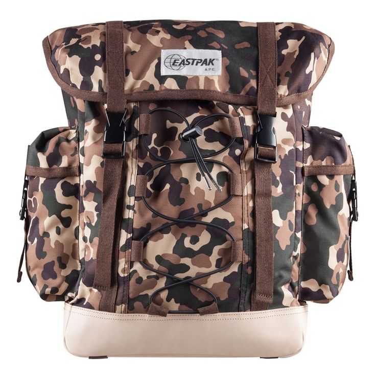 New collaboration between EASTPAK and A.P.C. Big Backpack BothA.P.C. andEASTPAK are legendary in their own right. A.P.C. is deeply entrenched in the bloodline of French apparel, while American brand EASTPAK has carried the torch for sturdy, durable bags since its inception in 1960. The two brands have come together in their first-ever collaborations, featuring a stylish three-piece range that simultaneously speaks to both brands' commitment to quality.Included here is the &lsq…