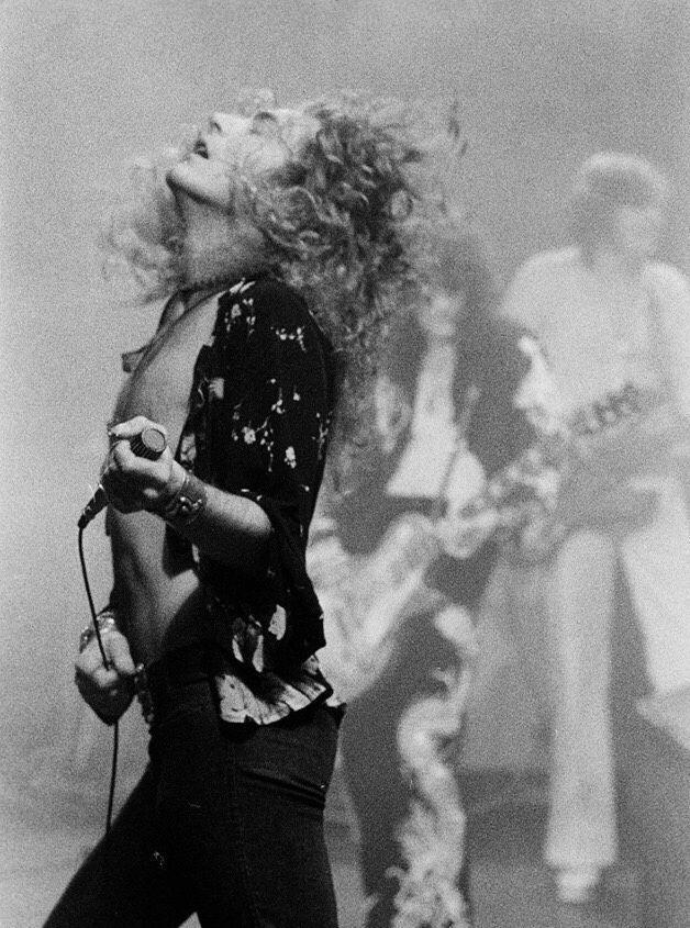 "sanamm2000:  ""Robert Plant  Earl's Court 1975  """