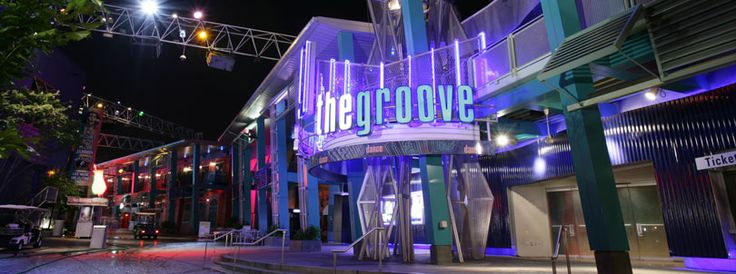 the groove Dance Club at Universal CityWalk