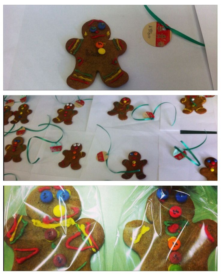 Gingerbread men cookies that my 6 year old students decorated. A different activity to spice English classes, really recommendable!