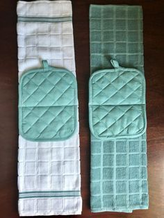 Hanging Kitchen Towel Easy Sewing Project  – hugmyndir