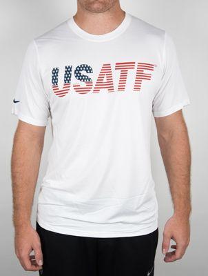 Product image: Nike USATF Men's USATF Flag Tee