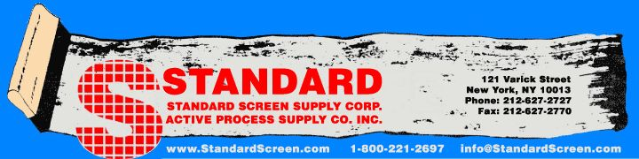 Holden's Screen Supply Corp. | Manufacturer of Holden's Screen Printing Supplies