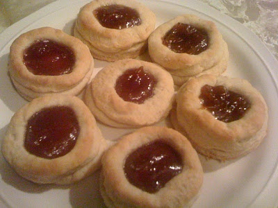 Ruby Tea Biscuits from L.M. Montgomery's Anne of Green Gables. Read the recipe: http://change-the-word.blogspot.com/2011/10/care-for-tea-and-biscuit.html