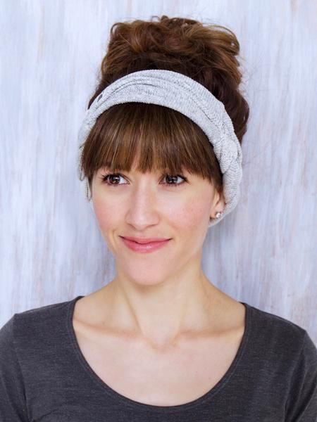 This handmade headbandactually stays on your head... or your neck. It's so crazy versatile that if you get one, it's like you're getting four!! And these fabri