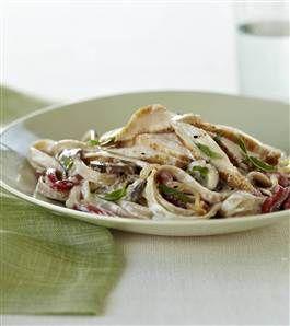 Joy Fit Club: Make chicken with creamy garlic pasta