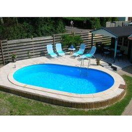 De Happy Pool ovale metalen zwembaden zijn prijsgunstige oplossingen om de droom van een zwembad in uw tuin te realiseren. De verzinkte en kunststof gecoate staalwand vormt een stabiele basis voor een prachtig zwembad. Accessoires, zoals zwembadpompen en zwembadtrappen kunnen los aangeschaft worden. Deze metalen zwembaden zijn geschikt voor inbouw.