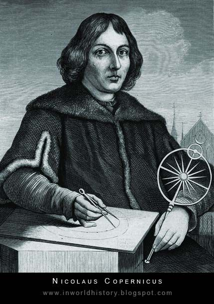 Nicolaus Copernicus proposed the heliocentric theory which stated that the Earth was the center of the universe but rather the Sun