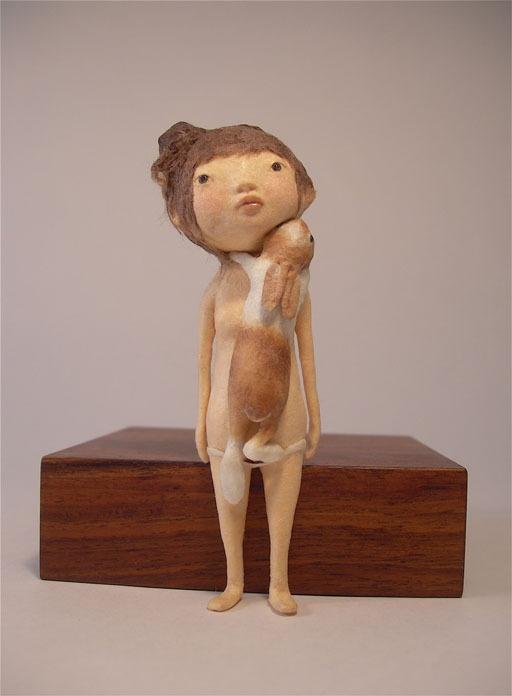 The W's: Kyoko Okubo: Washi (paper) sculptures.