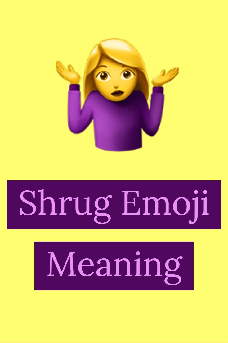 Shrug Emoji Shrug Emoji Emoji Emoji Language