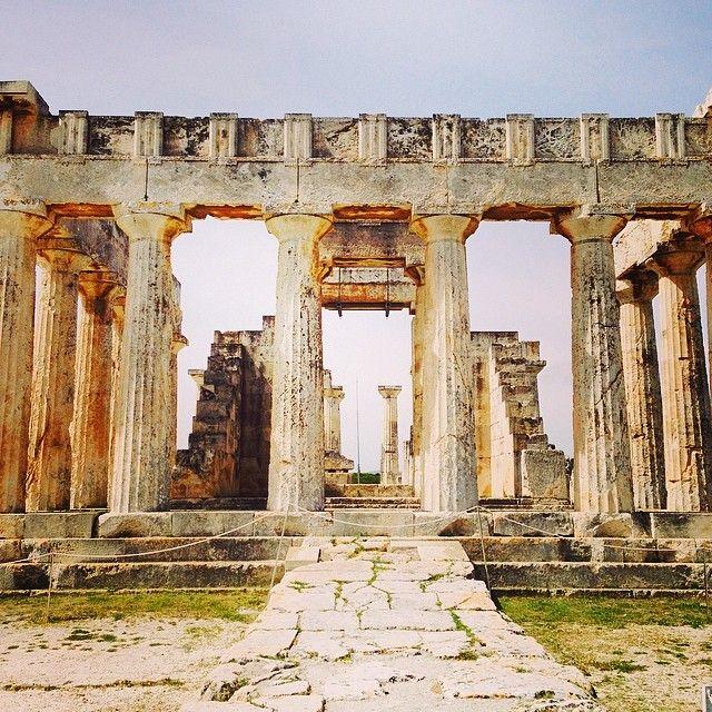 Ναός της Αφαίας (Temple of Aphaia) in Αίγινα, Αττική