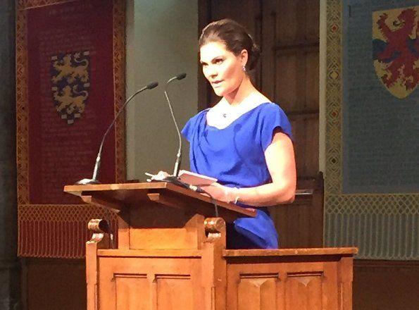 Princess Victoria attends 20th anniversary of establishment of OPCW
