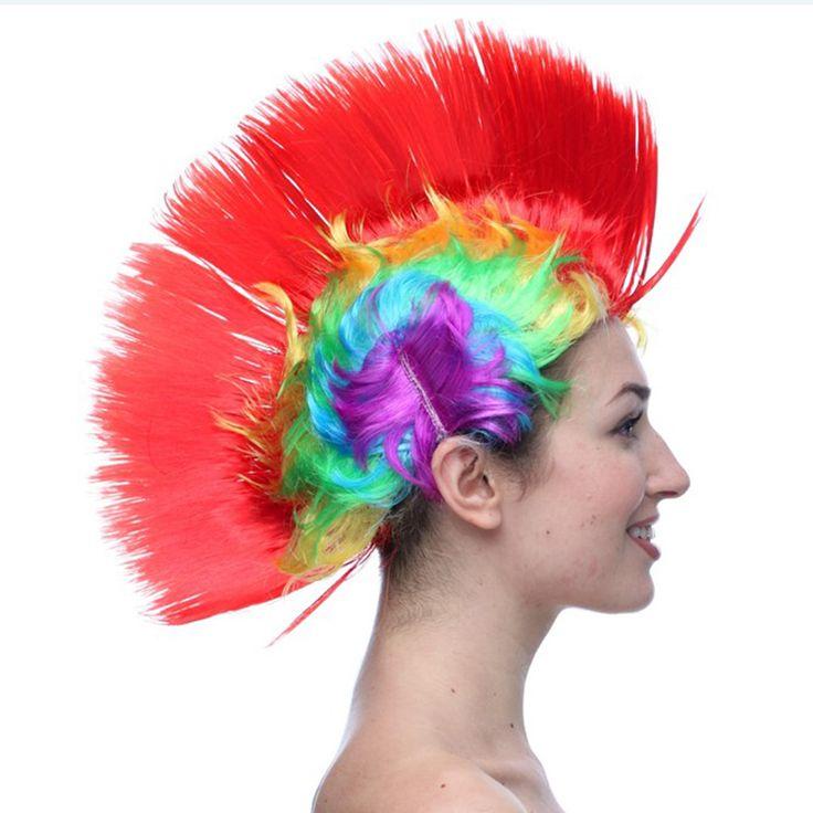 "SOUND: http://www.ruspeach.com/en/news/11310/     Прически в стиле ""панк"" появились в СССР в 90е годы. Цветные ирокезы были символом борьбы против навязываемых обществом стереотипов. Такая прическа популярна и в наши дни.    Hairdresses in punk style appeared in the USSR in 90e years. Color mohawks were a fight symbol against the stereotypes imposed by society. Such hairdress today is also popular.    цветной [tsvitnòj] - colourful, coloured  популярный [papulyarnyj] - popula"