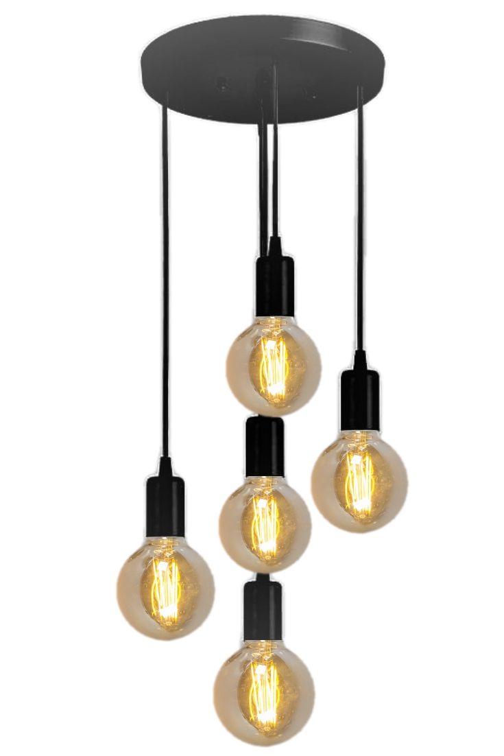 Lampa Wisząca Kable W 2019 Pomysły Na Oświetlenie Salonu Kuchni