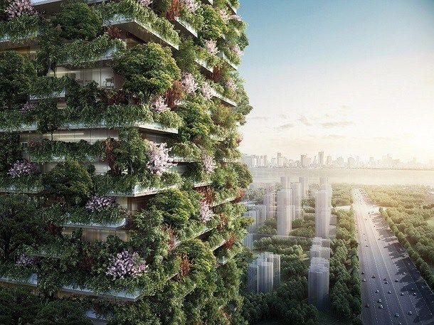 Un arhitect italian combate poluarea printr-un proiect inovator: păduri verticale