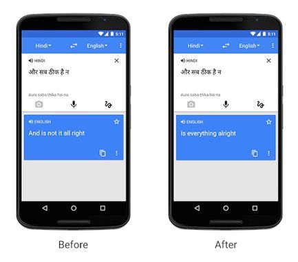 El traductor de Google ya traduce alrededor de 100.000 millones de palabras por día