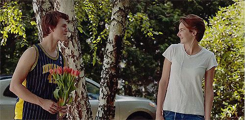 When he plans a german themed picnic for Hazel, so that he can tell her that they're going to go to Amsterdam!!! | 12 Times Augustus Waters Made You Go Aww During The Fault In Our Stars Movie
