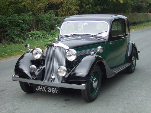 Rover 10 Coupe 1938.
