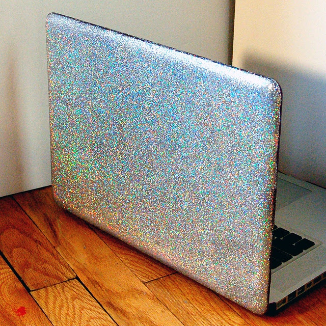 I am legitimately flailing about my apartment thinking about how AMAZING my laptop will look when I do this!: Computers, Glitter Laptop, Laptops, Laptop Cases, Laptop Covers, Diy Glitter, Glitter Computer, Craft Ideas