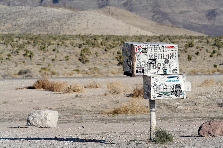 """'BLACK MAILBOX' 