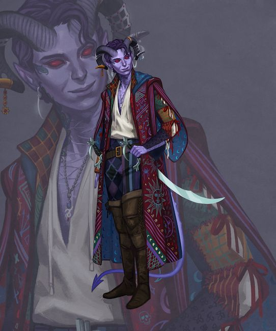 Your First Look at the Official Art for the Second Critical Role Campaign | Geek and Sundry