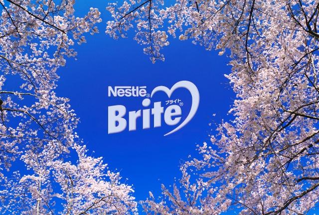 ネスレ ブライト カトルフィーユ/Nestle Brite(ネスレ日本)/桜 sakura バージョン