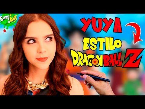 Cómo Dibujar a Yuya estilo Dragon Ball │Dragon Ball Super  Videos  - YouTube