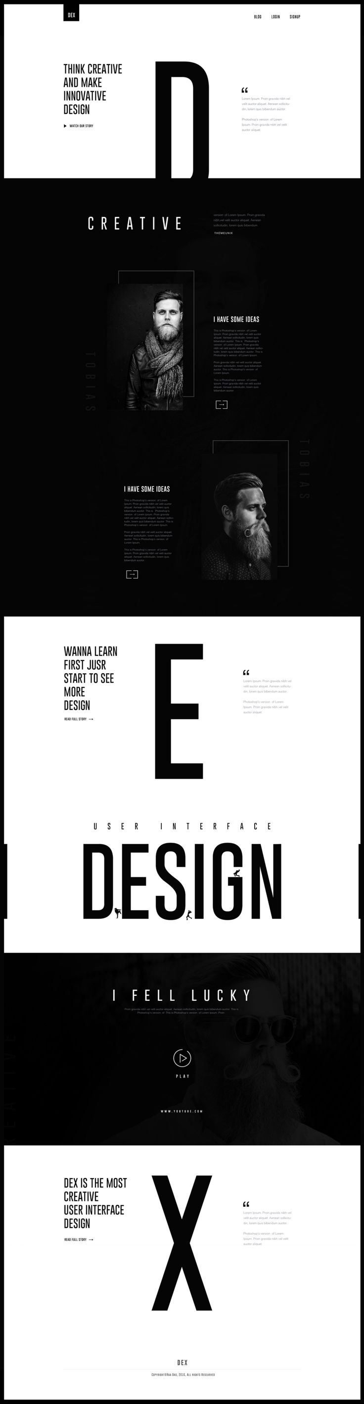 I like this website design because it is very Graphic and stylish. This is modern and this is what I am trying to achieve.