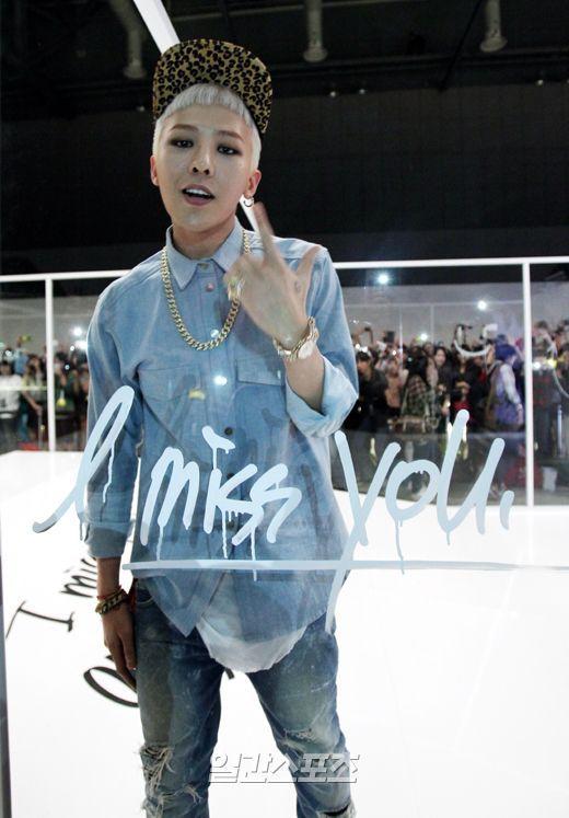 G-Dragon's 'Who You' Music Video Shoot with 1,000 lucky VIPs at Kintex in Goyang, Geyonggido (131005)