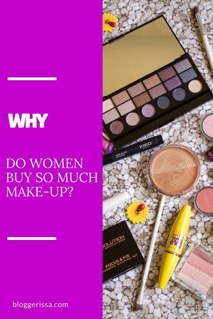 Although I know I don't have much storage space and I don't wear make-up daily, I still feel the need to buy new products as often as I can. So I though about 6 reasons that might explain this whole make-up obsession, and I'm gonna list them in this post.