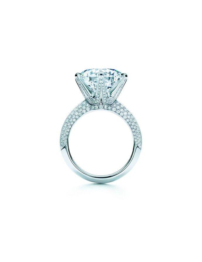 Tiffany Blue book diamant sur bague