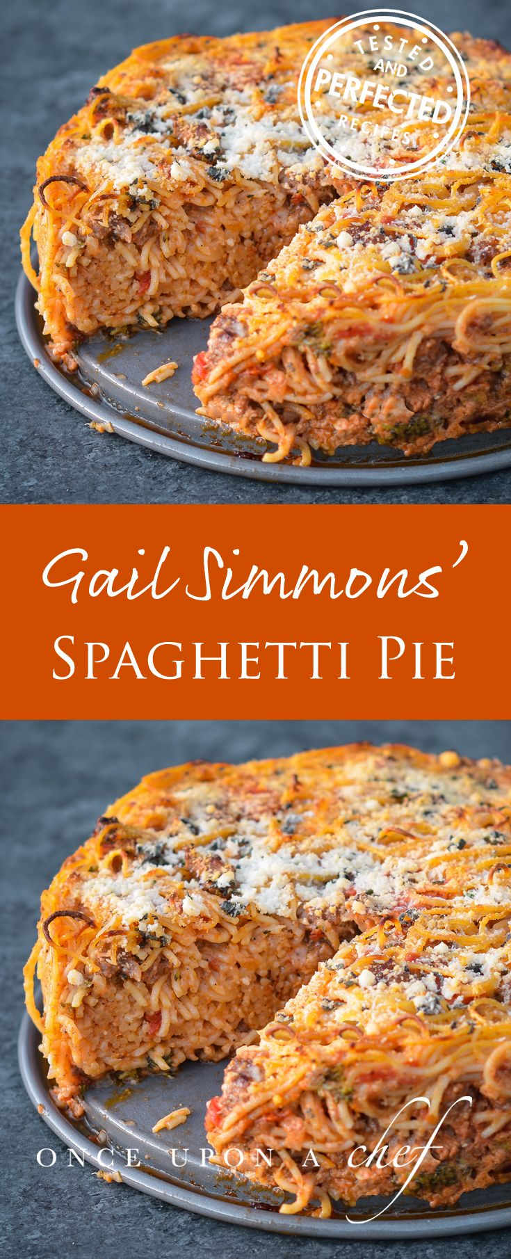 Gail Simmons' Epic Spaghetti Pie