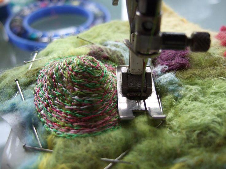 Creating Felt Artwork - Felt & Stitch by rosiepink - Craftsy