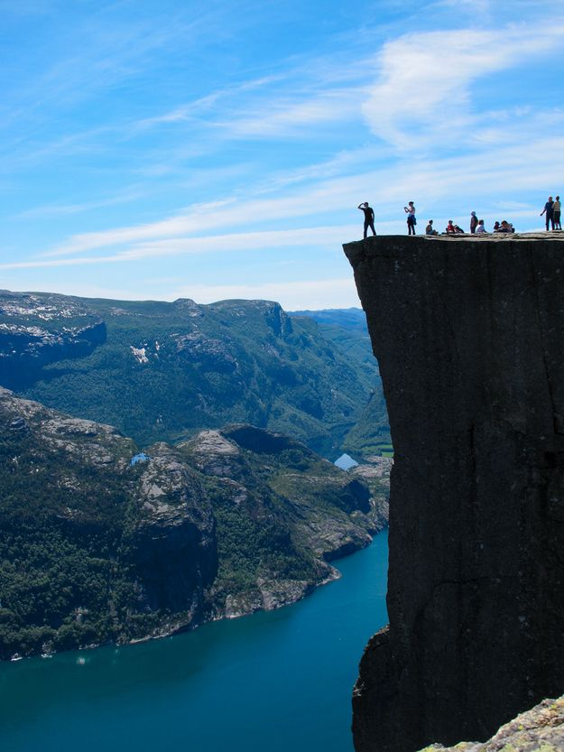 Preikestolen – Forsand  Noruega