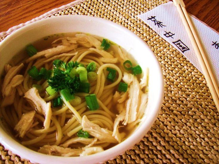 japanese chicken noodle soup | Recipes - Oriental | Pinterest
