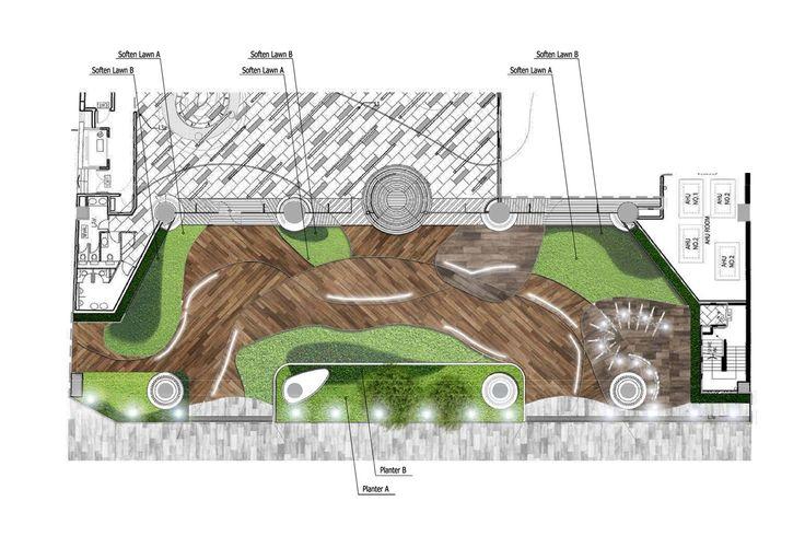Galería de Lobby Oficina / 4N design architects - 19