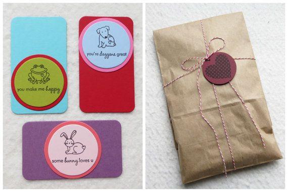 DIY Valentine Card Kit  Makes 40 Mini Cards by FreshLemonBlossoms, $26.00