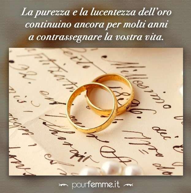Anniversario Matrimonio Oro.Frasi Anniversario Matrimonio Anniversario Immagini Di