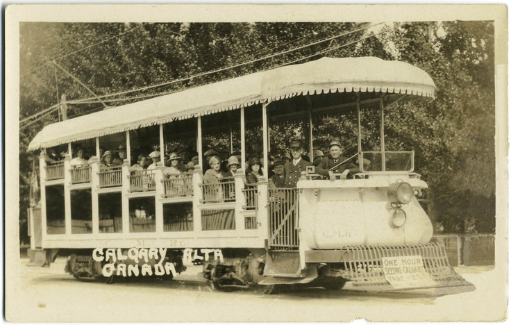 Did you know Calgary had trolley cars back in the day?